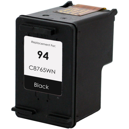 HP 94 Ink Cartridge - HP Remanufactured  (Black)
